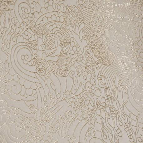 tissu skin beige jean paul gaultier d co en ligne tissus. Black Bedroom Furniture Sets. Home Design Ideas