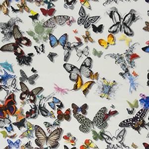 Tissu Butterfly opalin Parade Christian Lacroix