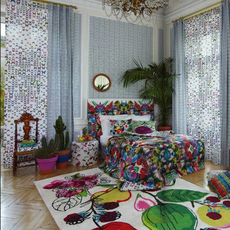 tissu caribe christian lacroix d co en ligne tissus. Black Bedroom Furniture Sets. Home Design Ideas