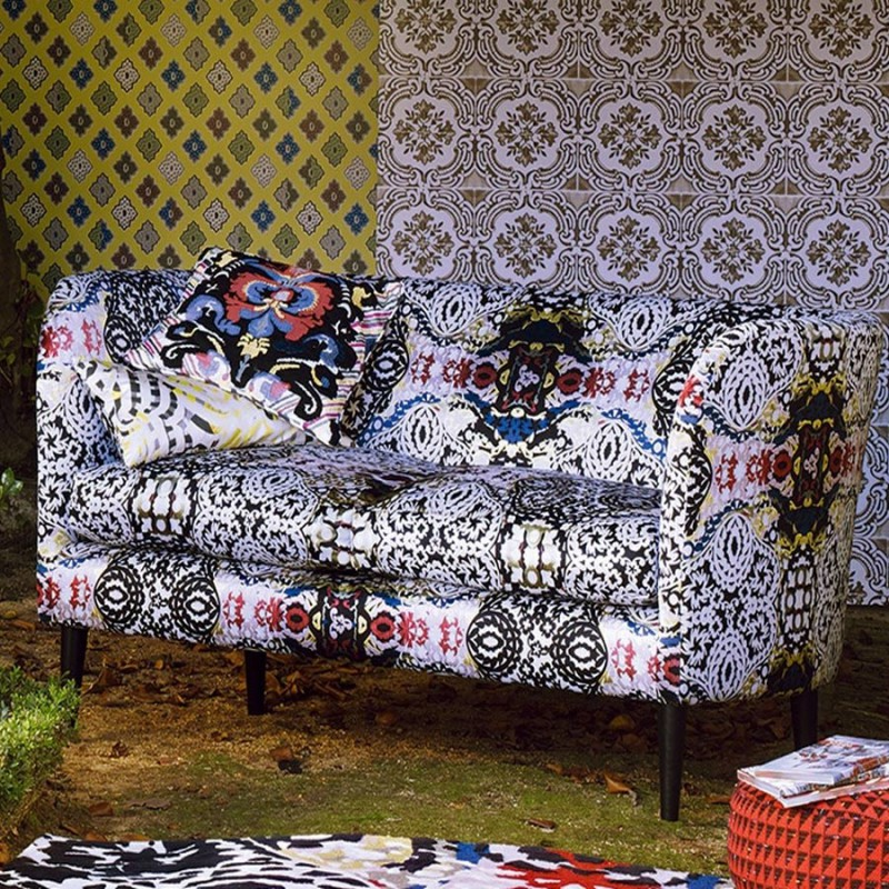 tissu souk christian lacroix d co en ligne tissus. Black Bedroom Furniture Sets. Home Design Ideas