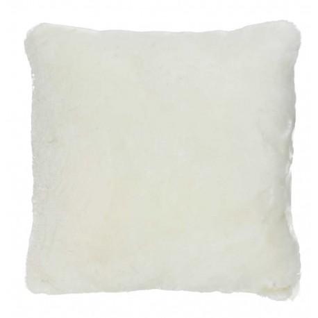 coussin fourrure pecore blanc now 39 s home d co en ligne coussins. Black Bedroom Furniture Sets. Home Design Ideas