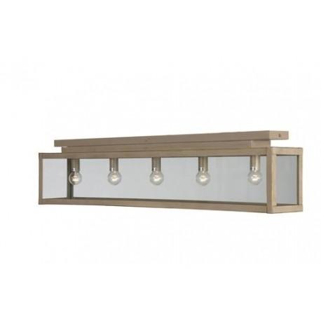Plafonnier zenia beige dor linea verdace d co en ligne for Plafonnier rectangulaire design