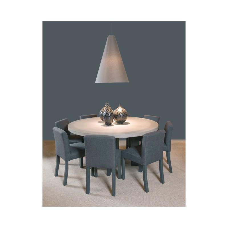 table de salle manger luna ronde ph collection d co en ligne tables de salle manger design. Black Bedroom Furniture Sets. Home Design Ideas