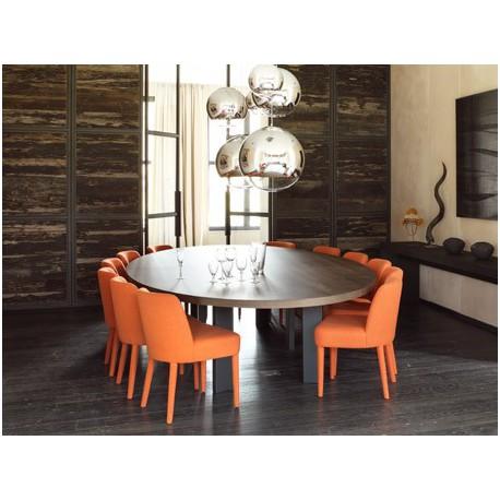 table de salle manger ovale ellipse ph collection. Black Bedroom Furniture Sets. Home Design Ideas