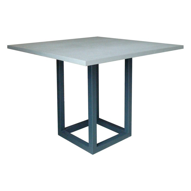 Table de bar zoe carr e ph collection ph collection - Table carree salle a manger design ...