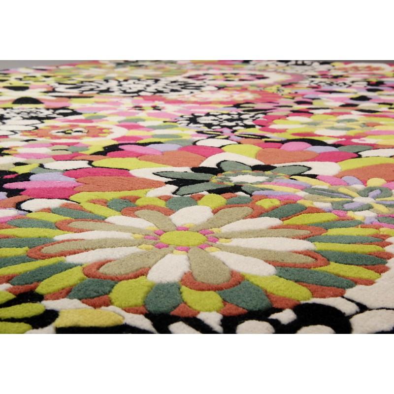 tapis fleury rond rouge by missoni home d co en ligne tapis. Black Bedroom Furniture Sets. Home Design Ideas