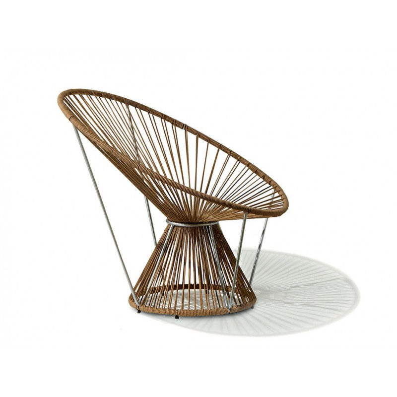 Missoni Home Cordula Chair: Fauteuil Rond Cordula Cuir, Missoni Home
