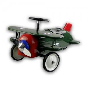 Porteur avion vert