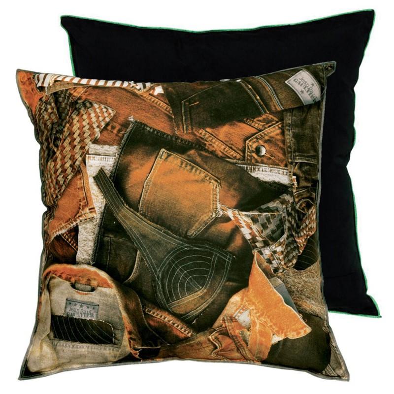 coussin america terre jean paul gaultier d co en ligne coussins. Black Bedroom Furniture Sets. Home Design Ideas