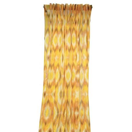 rideau voilage miami jaune lelievre d co en ligne rideaux design. Black Bedroom Furniture Sets. Home Design Ideas