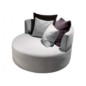 Fauteuil Bamboo rond, PH Collection