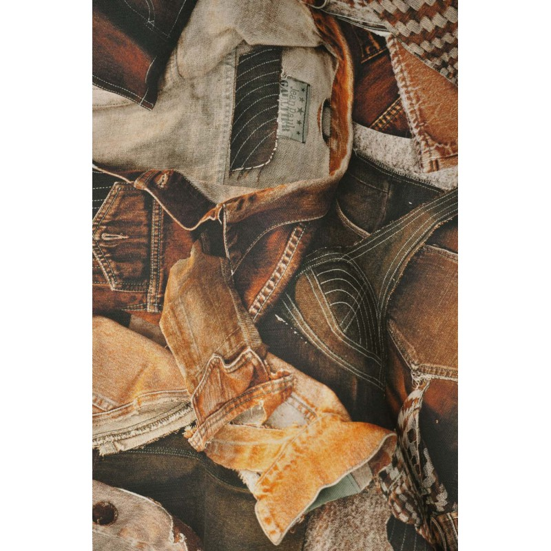 tissu on the road terre jean paul gaultier d co en ligne tissus. Black Bedroom Furniture Sets. Home Design Ideas