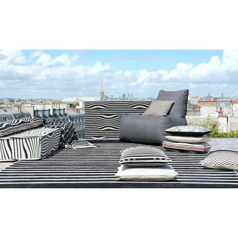 tissu illusion beige jean paul gaultier d co en ligne tissus d 39 ameublement. Black Bedroom Furniture Sets. Home Design Ideas