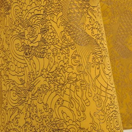 tissu skin gold jean paul gaultier d co en ligne tissus. Black Bedroom Furniture Sets. Home Design Ideas