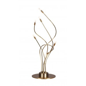 Lampe Tubetti bronze