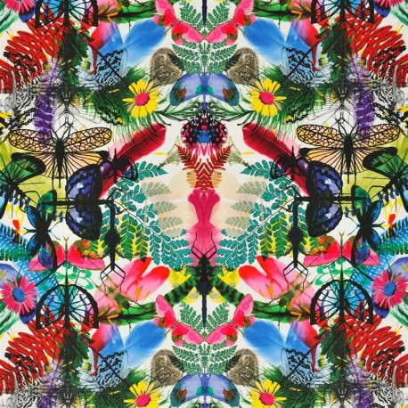 Tissu Butterfly Caribe Christian Lacroix