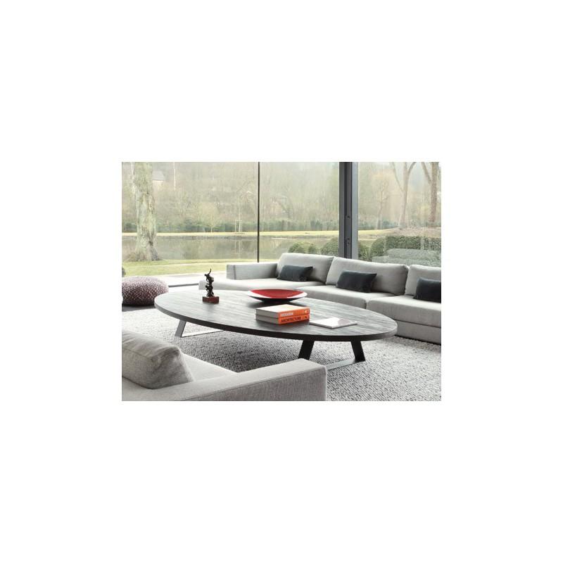 table basse tr vise ovale ph collection d co en ligne tables basses design. Black Bedroom Furniture Sets. Home Design Ideas