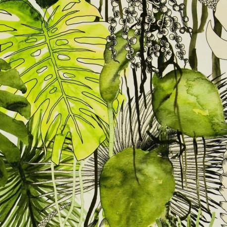 Velours Soft Jardin Exo'Chic Christian Lacroix