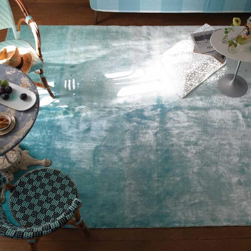 Tapis Eberson Aqua, Designers Guild