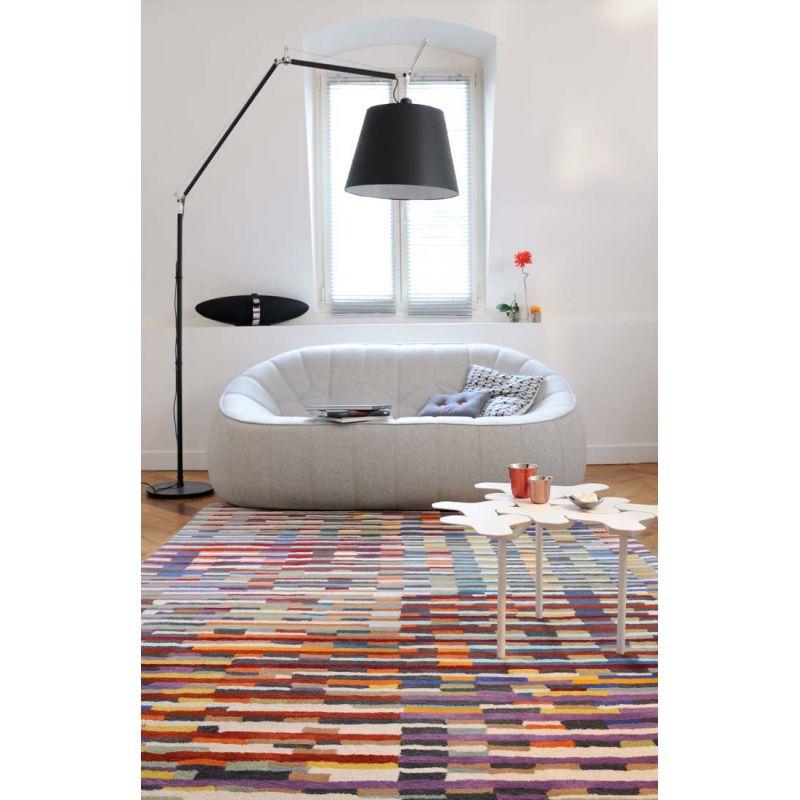 tapis cinetic multicolore toulemonde bochart d co en ligne tapis. Black Bedroom Furniture Sets. Home Design Ideas