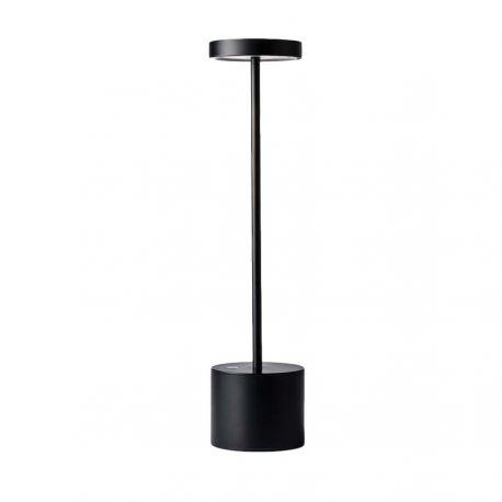 Lampe Luxciole noire SANS FIL by Hisle
