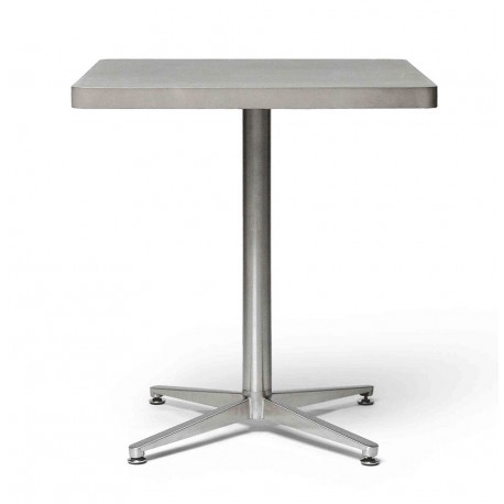 table bistrot b ton inox carr e lyon b ton d co en ligne tables bistrot. Black Bedroom Furniture Sets. Home Design Ideas