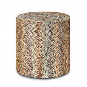 Pouf Jarris 148 cylindre by Missoni Home