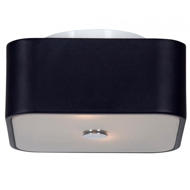 plafonnier quadro noir linea verdace d co en ligne plafonniers design. Black Bedroom Furniture Sets. Home Design Ideas
