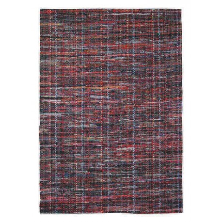 Tapis Baron rouge by The Rug Republic