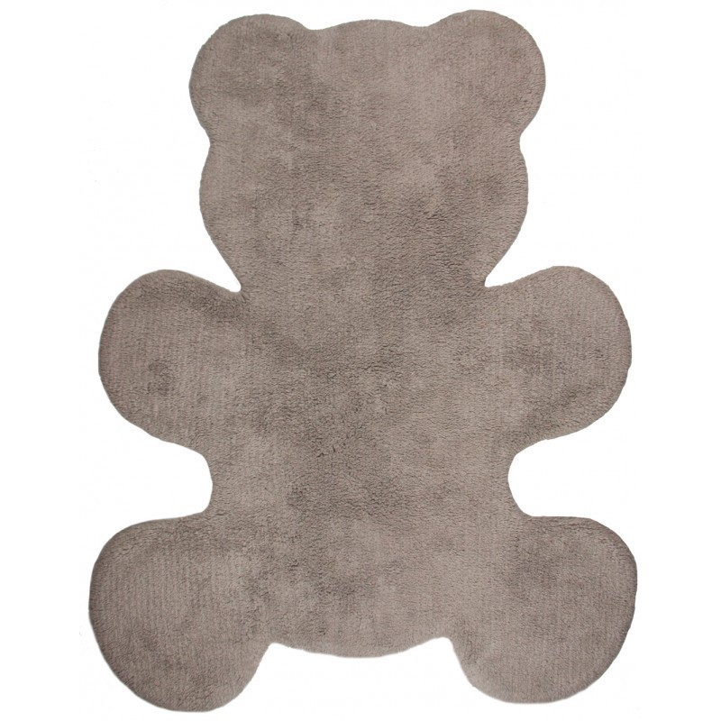 tapis enfant little teddy taupe nattiot d co en ligne tapis enfants. Black Bedroom Furniture Sets. Home Design Ideas