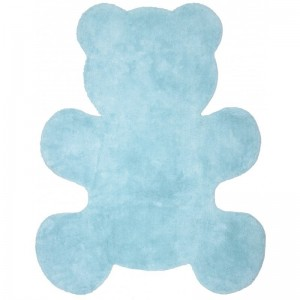 Tapis enfant Little Teddy bleu, Nattiot
