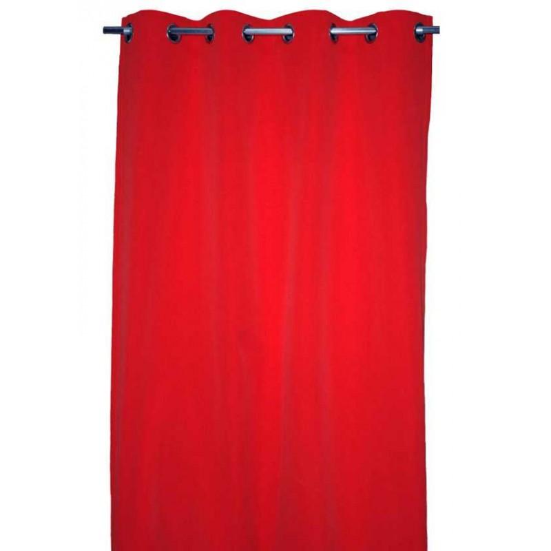 rideau authentique rouge lelievre d co en ligne rideaux design. Black Bedroom Furniture Sets. Home Design Ideas