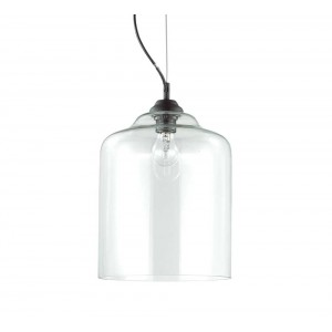 Suspension Bistrot transparente, Ideal Lux