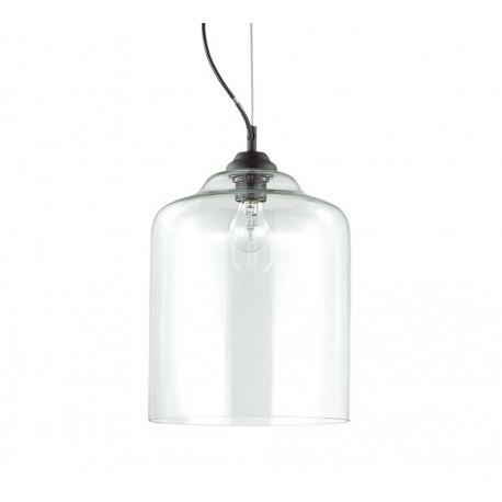Suspension bistrot transparente ideal lux d co en ligne for Suspension transparente