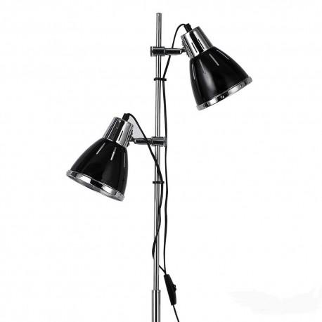 Lampadaire rétro Elvis noir, Ideal Lux