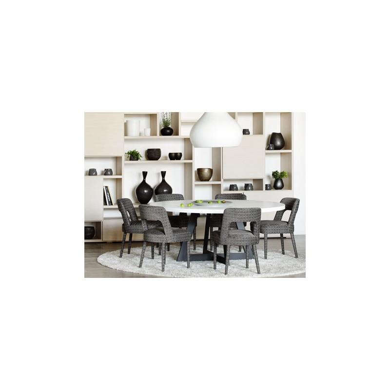 Table de salle manger baron ronde ph collection d co for Table de salle a manger home center
