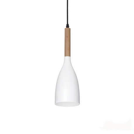 Suspension Manhattan blanche Ideal Lux
