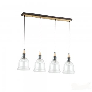 Suspension Gretel ronde, Ideal Lux