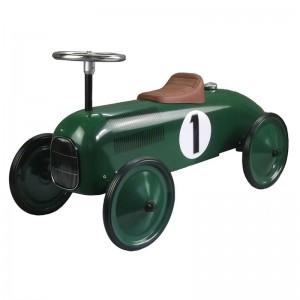 Porteur voiture ancienne vert, Protocol