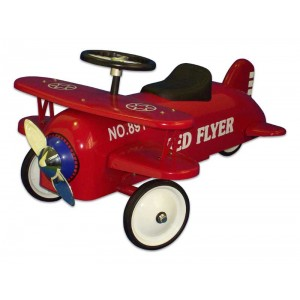 Porteur avion rouge