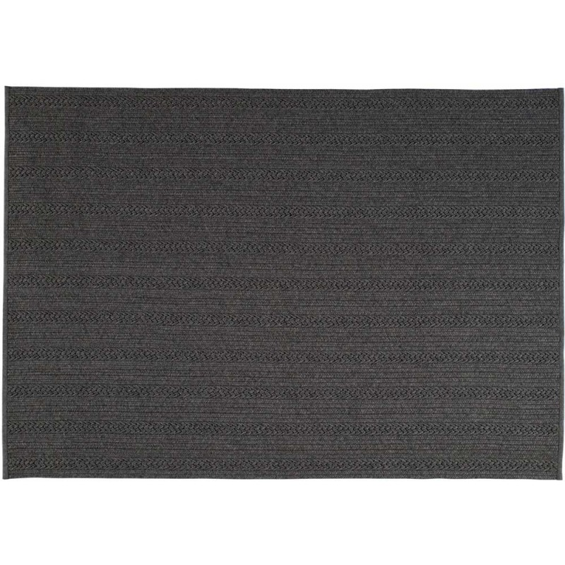 tapis torsade anthracite ext rieur toulemonde bochart d co en ligne tapis ext rieurs. Black Bedroom Furniture Sets. Home Design Ideas