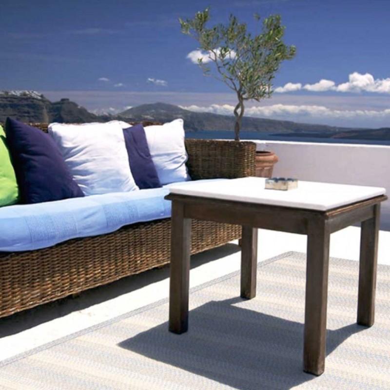 tapis natte bleu ext rieur toulemonde bochart d co en. Black Bedroom Furniture Sets. Home Design Ideas