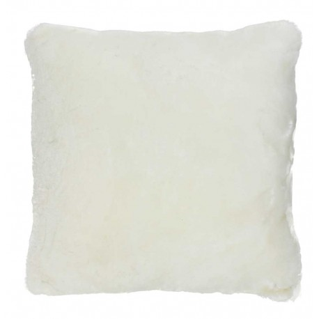 coussin fourrure pecore blanc now 39 s home d co en ligne. Black Bedroom Furniture Sets. Home Design Ideas