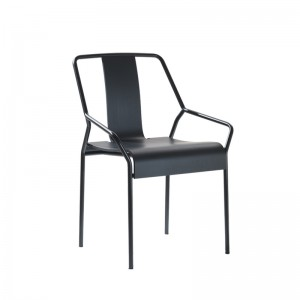 Fauteuil empilable Dao noir, COEDITION