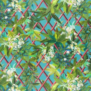 Tissu Canopy Malachite, Christian Lacroix
