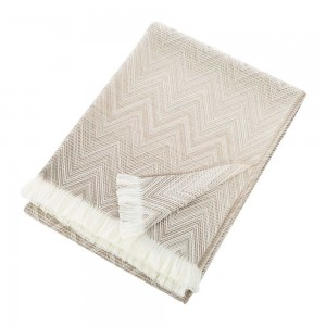 Plaid Timmy Beige, Missoni Home