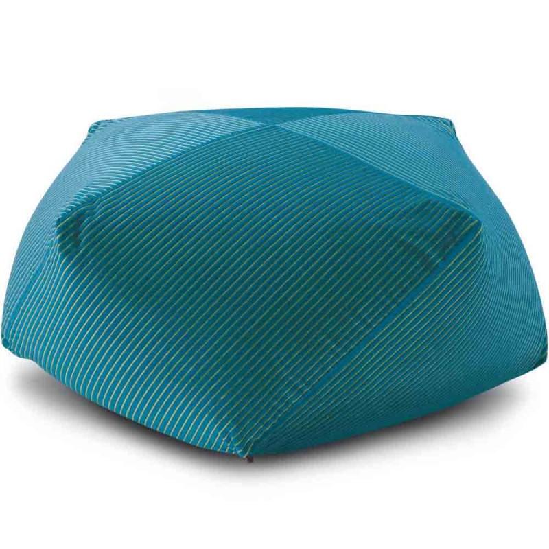 pouf diamant rafah turquoise missoni home d co en ligne poufs. Black Bedroom Furniture Sets. Home Design Ideas