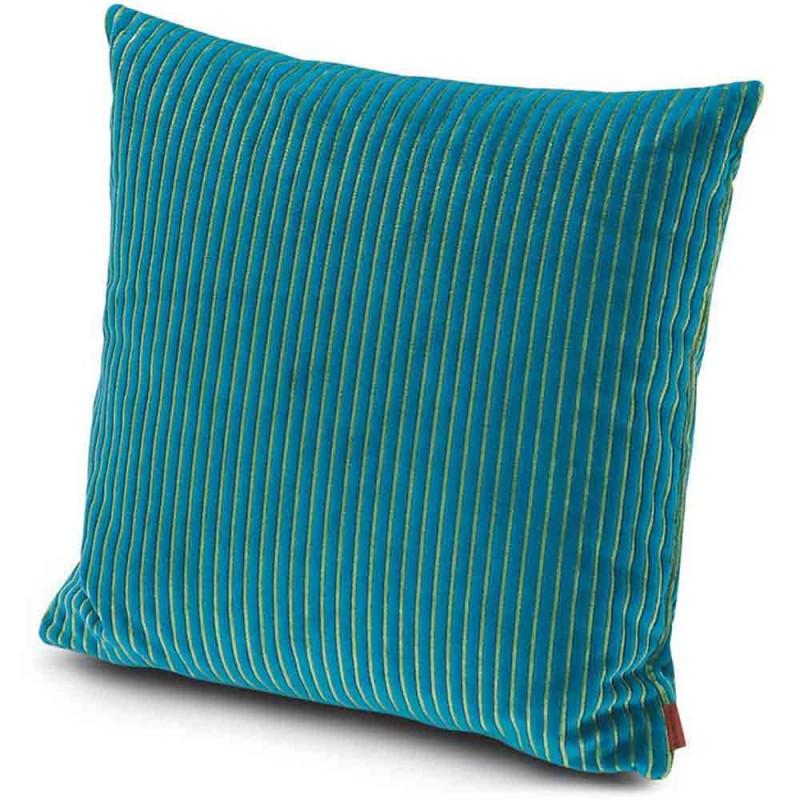 coussin rafah turquoise missoni home d co en ligne coussins. Black Bedroom Furniture Sets. Home Design Ideas