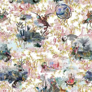 Tissu Reveries Tomette, Christian Lacroix