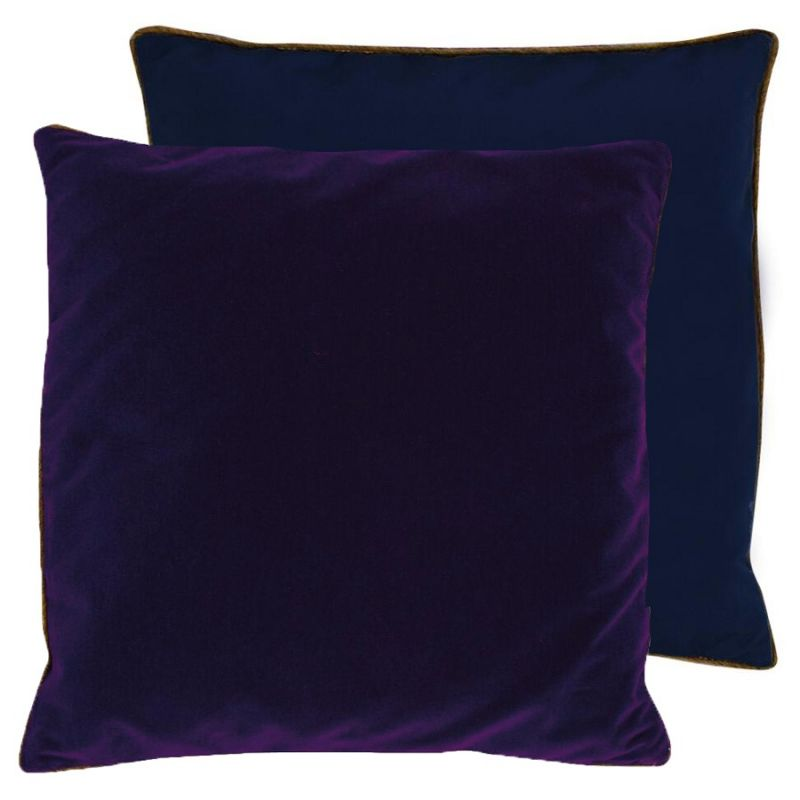 coussin piccadilly violet lelievre d co en ligne coussins. Black Bedroom Furniture Sets. Home Design Ideas